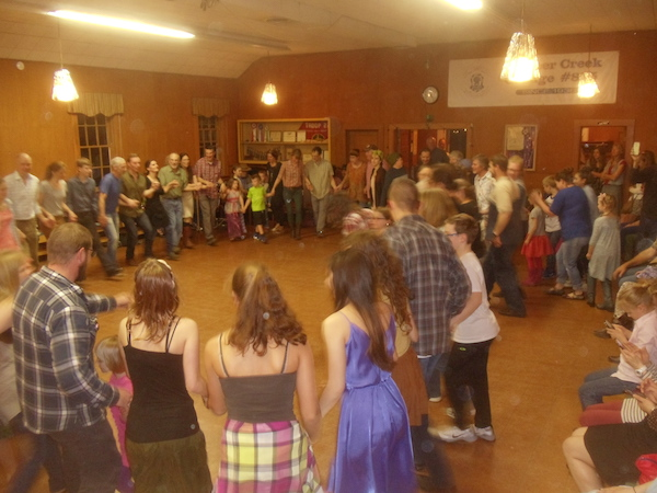 The Spencer Creek Grange hosts a Spring Barn Dance on April 1st
