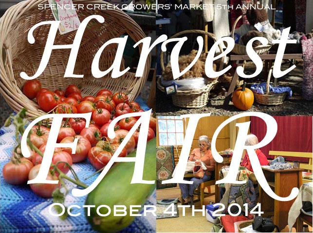 Harvest Fair at the Spencer Creek Grange