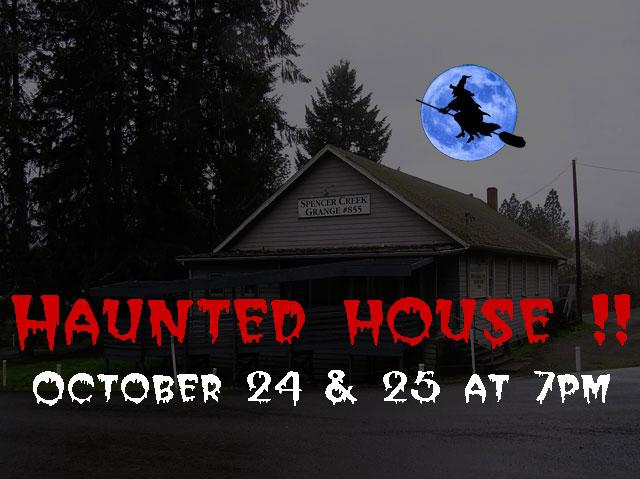 Spencer Creek Grange Haunted House 2014