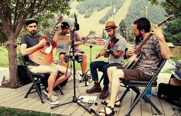 Breakers Yard will perform at the Spencer Creek Grange at the September 28th Barn Dance